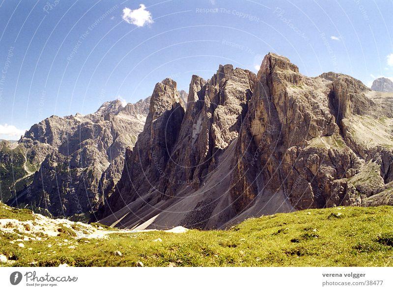 Dolomiten Berge u. Gebirge Schönes Wetter