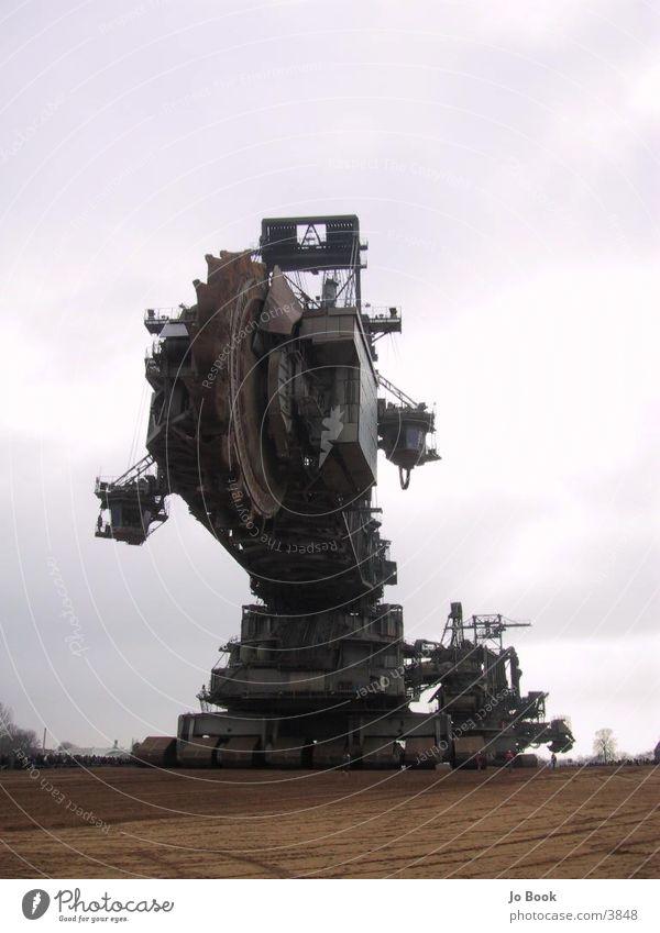 Der Größte Braunkohle Bagger der Welt groß Technik & Technologie Kohle Verkehr Elektrisches Gerät Braunkohlenbagger