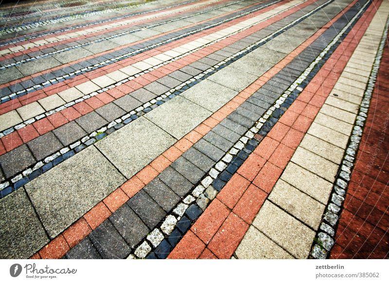 Musterpflaster Design Dekoration & Verzierung Platz Architektur Fassade Terrasse Verkehrswege Straße Wege & Pfade Wegkreuzung Freude Zufriedenheit Optimismus