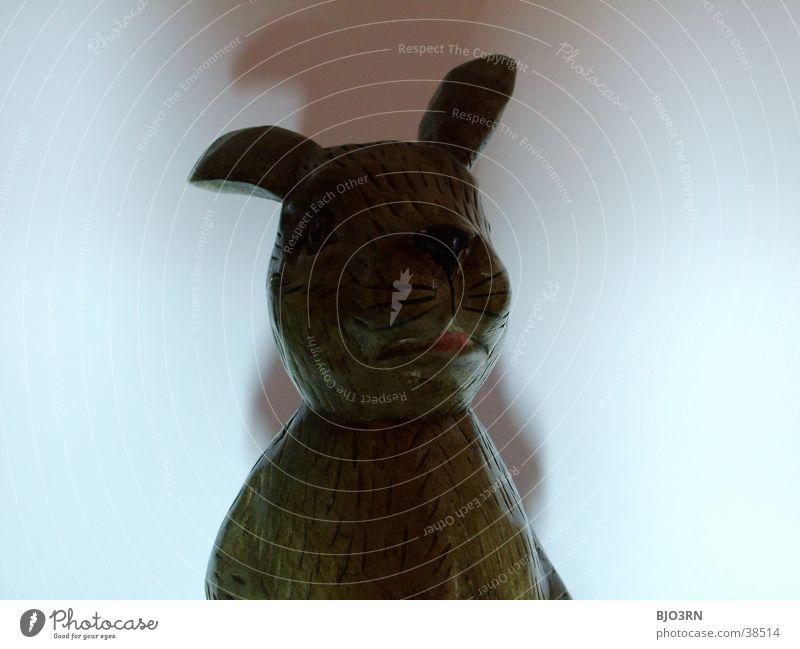 Osterhase mal anders #4 Nase Ohr Kitsch Statue Hase & Kaninchen Löffel Besteck Ostern Krimskrams