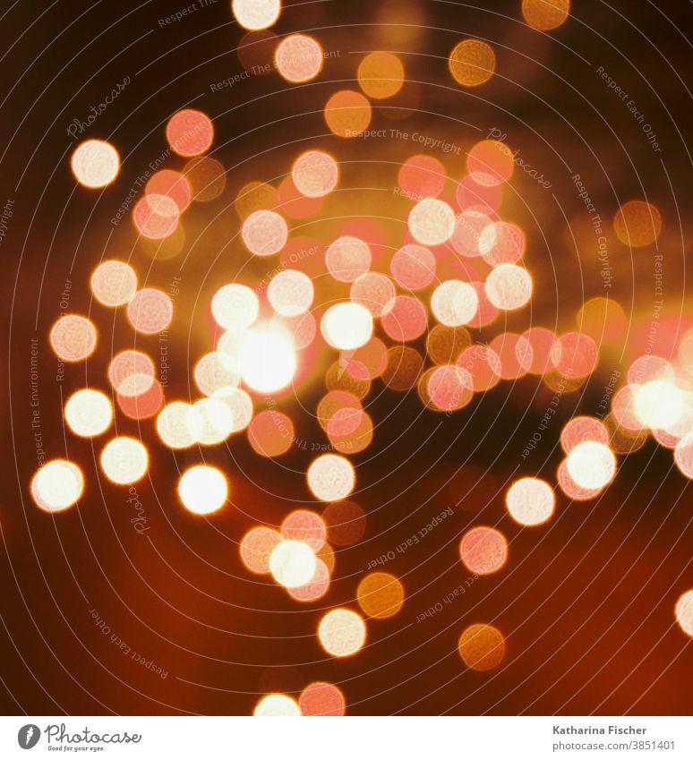 Lichter in der Nacht Kunstlicht Farbfoto Außenaufnahme Nachtaufnahme mehrfarbig Experiment Muster Reflexion & Spiegelung Hintergrundbild Beleuchtung Lichtpunkt