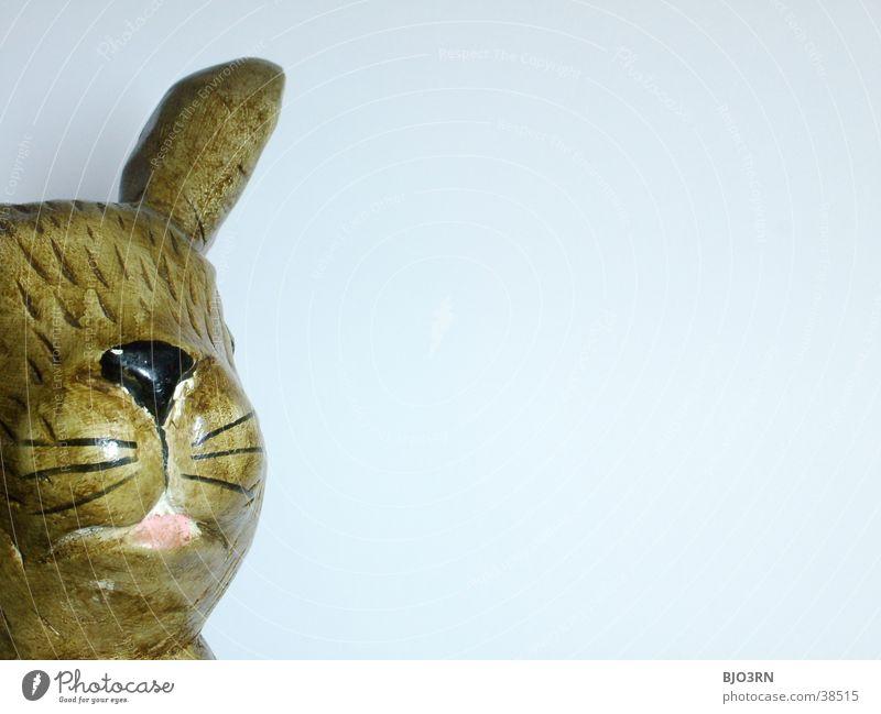 Osterhase mal anders #3 Nase Ohr Kitsch Statue Hase & Kaninchen Ostern Löffel Osterhase Krimskrams