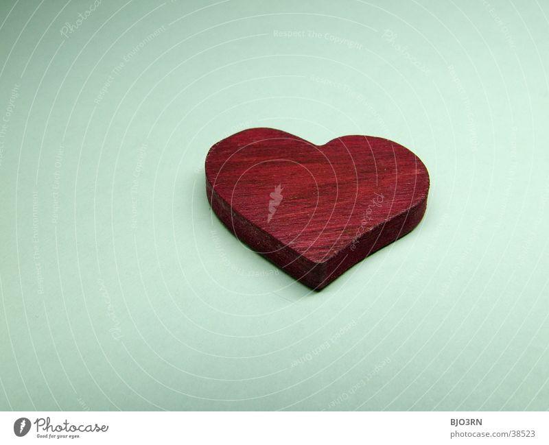 Herz #2 weiß rot Liebe obskur