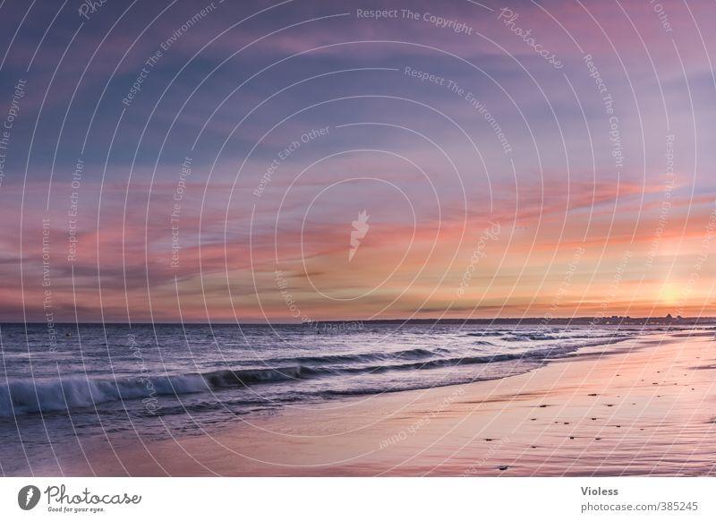 ..es war einmal Ferien & Urlaub & Reisen Ferne Freiheit Sommer Sommerurlaub Sonne Strand Meer Wellen Natur Landschaft Urelemente Sand Luft Wasser Horizont