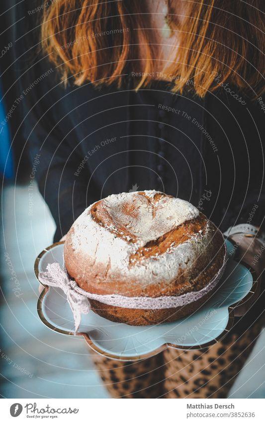 Selbstgebackenes Brot Brotlaib Brote brotzzeit selbstgemacht Herz Geschenk