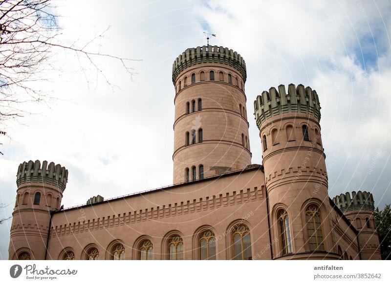 Keine Aussicht möglich :-( Rügen Insel Rügen Mecklenburg-Vorpommern Menschenleer Schloss Jagdschloss Jagdschloss Granitz Ostseeinsel Ferien & Urlaub & Reisen