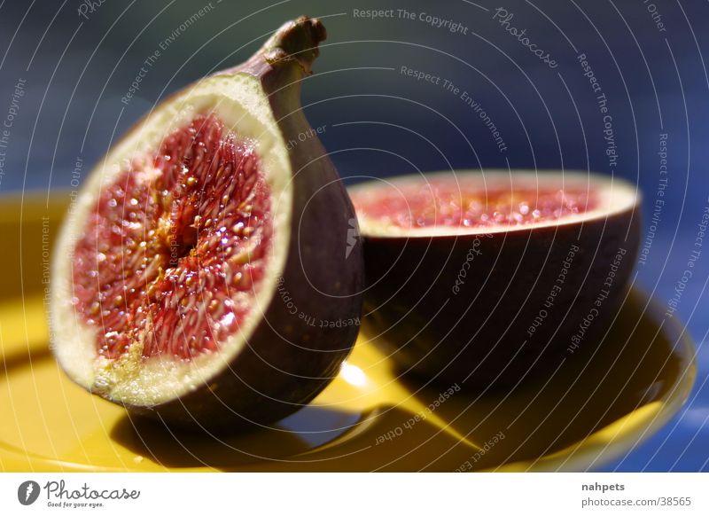 Feigen im Spätsommer Sommer Gesundheit Frucht Stillleben Dessert Feige