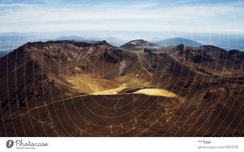 one does not simply walk into mordor. Landschaft Urelemente Felsen Berge u. Gebirge Mount Ngauruhoe Tongariro Gipfel Vulkan Ferne Bergsteigen Aussicht