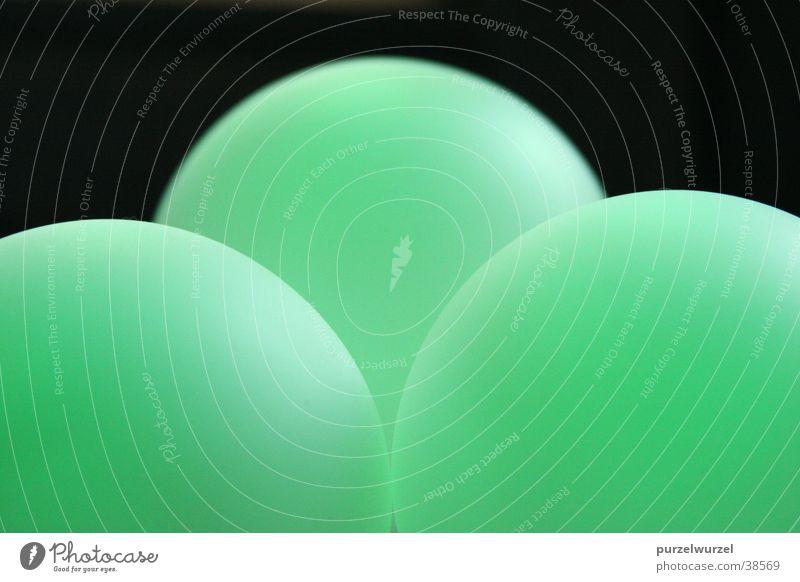 Leuchtkugeln grün Licht Häusliches Leben Kugel Lampe aufladbar Farbwechsel