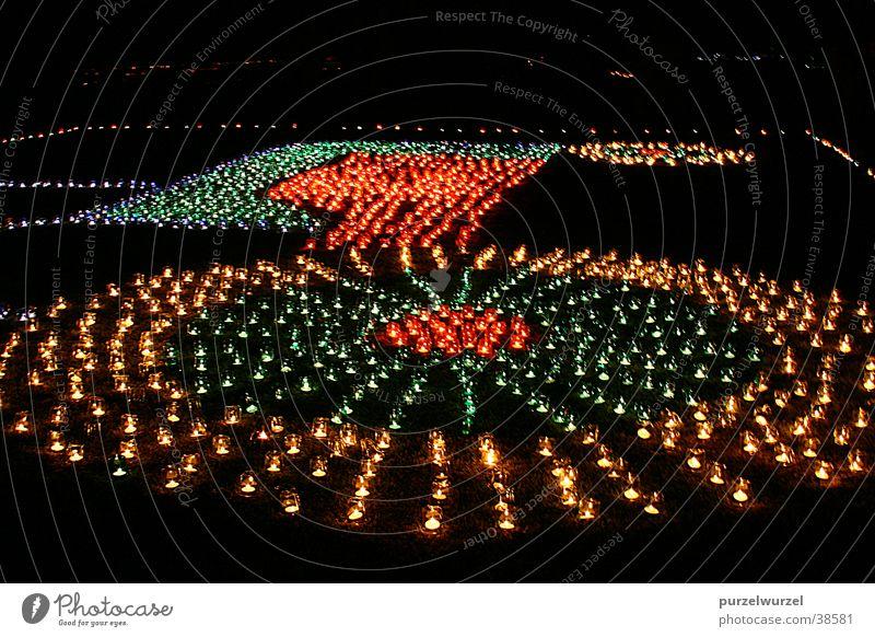 Lichtspektakel 1 Kerze Veranstaltung Oberberg-Eisenstadt Langzeitbelichtung Club Lichterfest Fantasygeschichte