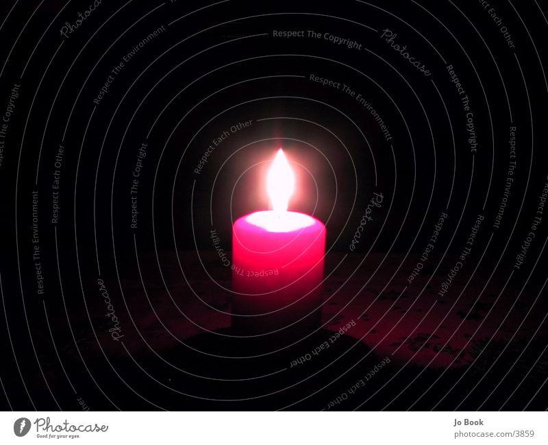 Rote KErZe Kerze rot Club Flamme Weihnachten & Advent
