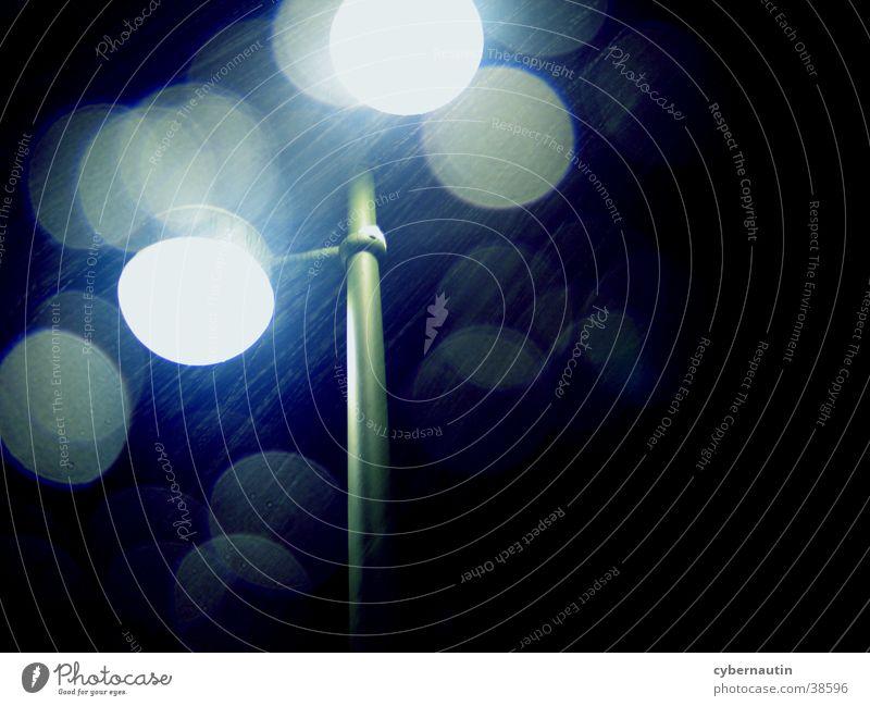 Schneeregenschein 1 Straßenbeleuchtung Nacht Licht Lampe Dinge