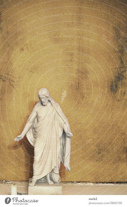 Zuspruch Christus Jesus Spiritualität Gott Kirche Christentum Religion Andacht Stille Tradition Innenaufnahme Kunst Gesicht heilig historisch Jesus Christus