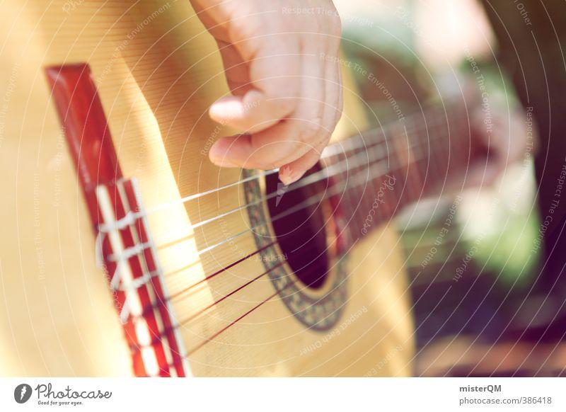 Musica. Hand Erholung Garten Kunst Musik Zufriedenheit ästhetisch Gitarre Musikinstrument Klang Musiker Musikfestival mediterran Saite Gitarrenspieler