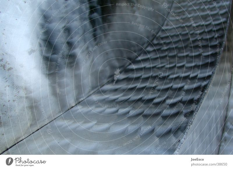 linien Linie Metall glänzend Hintergrundbild Perspektive Dinge Stahl Glätte Bildausschnitt Edelstahl Schweißnaht