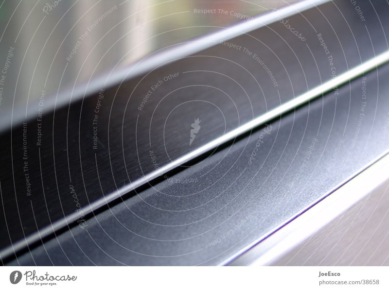 steel Stil Linie Metall Perspektive Industrie Bad Küche Dinge Stahl Dynamik diagonal Spalte Edelstahl verarbeiten