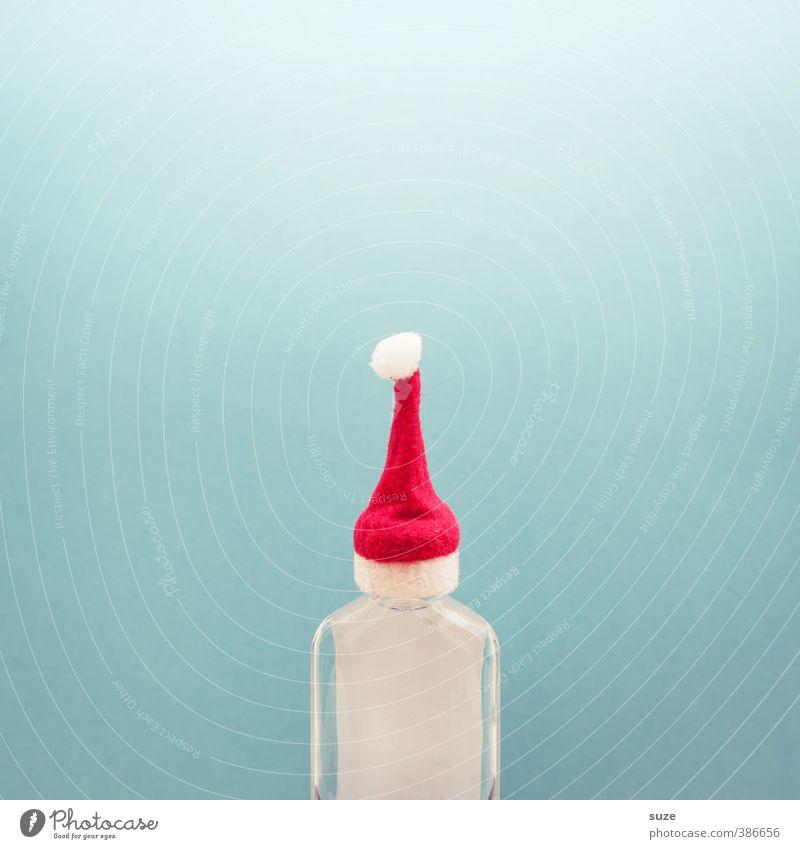 Hut ab, Frau Mütze Weihnachten & Advent blau rot lustig Lifestyle klein außergewöhnlich Feste & Feiern Freizeit & Hobby Dekoration & Verzierung Fröhlichkeit