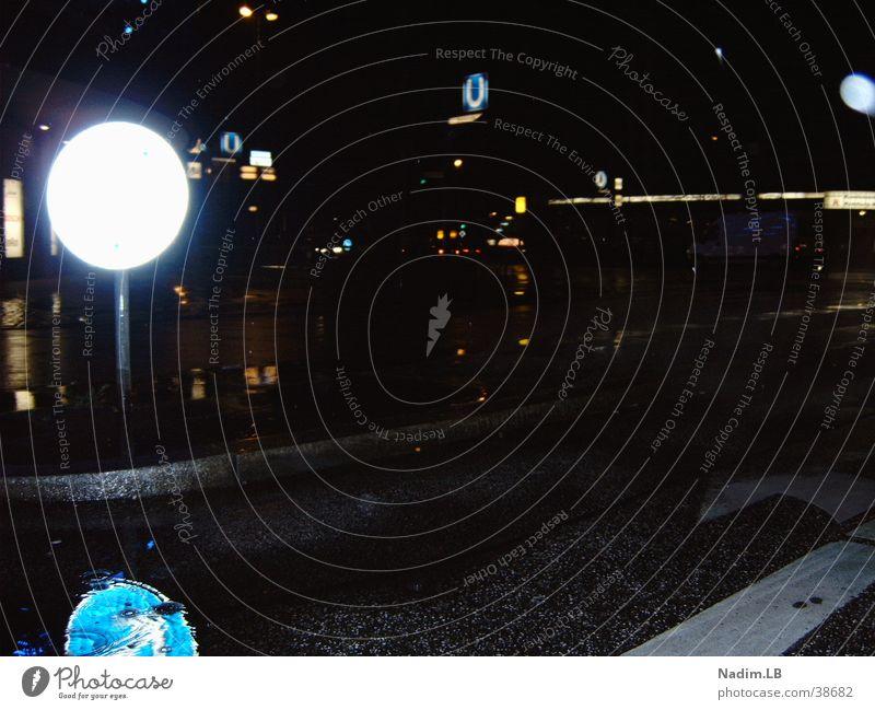 Nightwalk Verkehrszeichen Planet Saturn