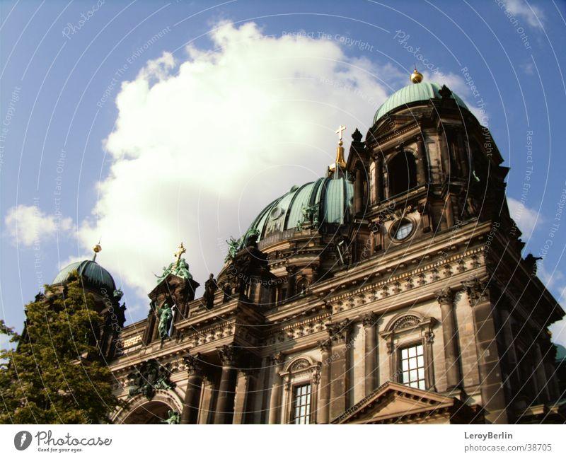 Berliner Dom Himmel Berlin Gebäude Dom Gotteshäuser