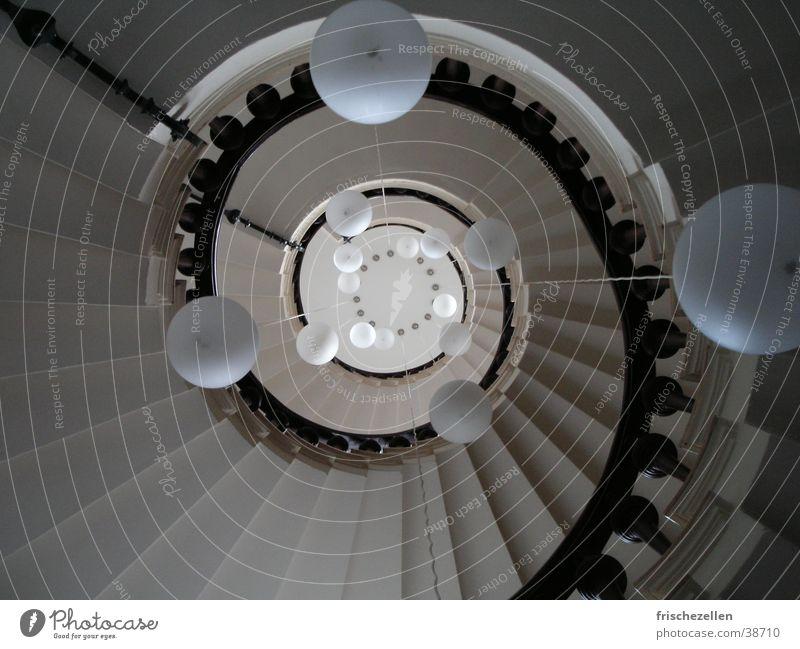 Treppenauge Raum Schneckenhaus Haus Architektur Wendelreppen