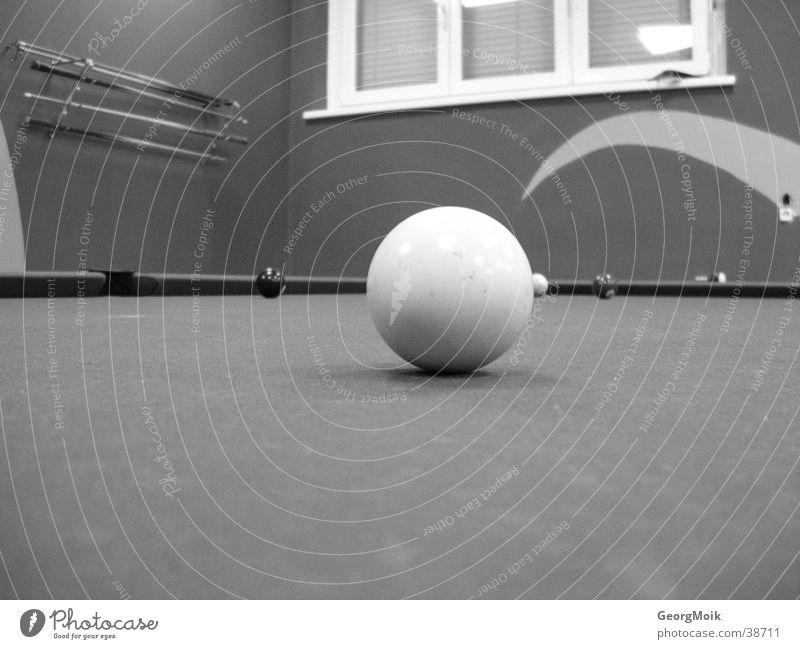 the white ball Billard weiß Poolbillard Stil Sport Billardball