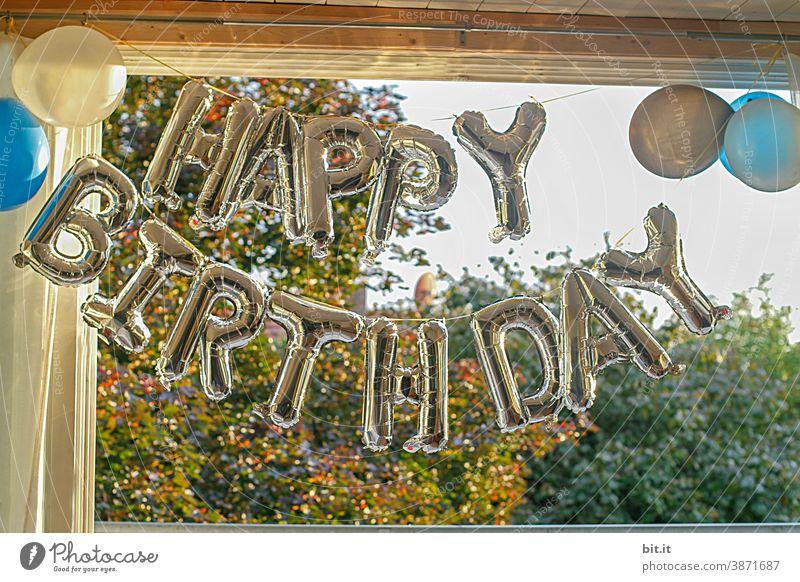 HAPPY BIRTHDAY PHOTOCASE ZUM 19. GEBURTSTAG Geburtstag Feste & Feiern Freude Party Luftballon Fröhlichkeit Tag Farbe Veranstaltung Dekoration & Verzierung