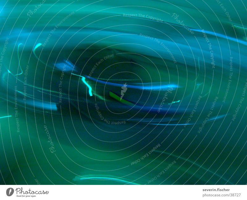 Jib-Jiab Bewegung PKW Kreis Wasser Wasserwirbel Verwirbelung Blauverlauf