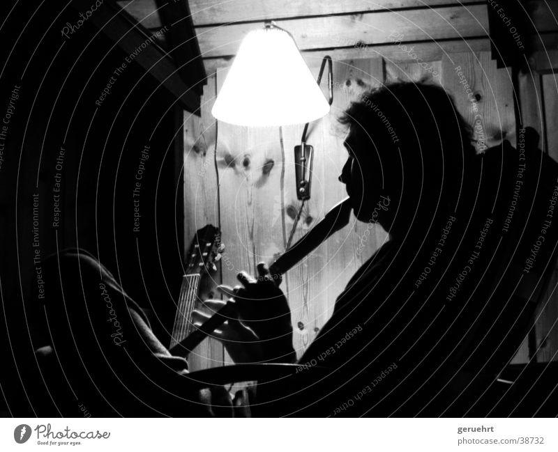 floete unplugged Mann Musik sitzen musizieren