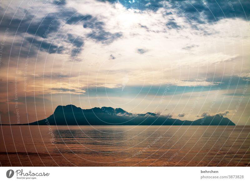 fernweh Natur Ruhe Fernweh Ferien & Urlaub & Reisen Tourismus Ausflug Wolken Himmel Landschaft Freiheit Ferne Abenteuer Wellen Küste exotisch außergewöhnlich
