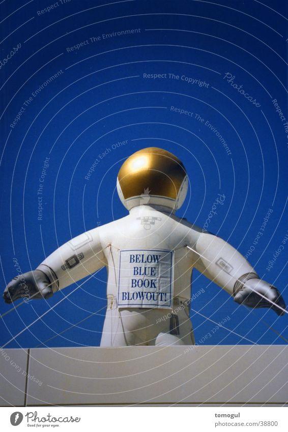 Aufblasastronaut USA obskur forschen Astronaut Technik & Technologie Raumfahrt