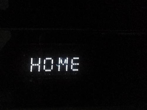 Home home sweet home Schwarzweiss Nahaufnahme Sicherheit Innenaufnahme Schriftzeichen