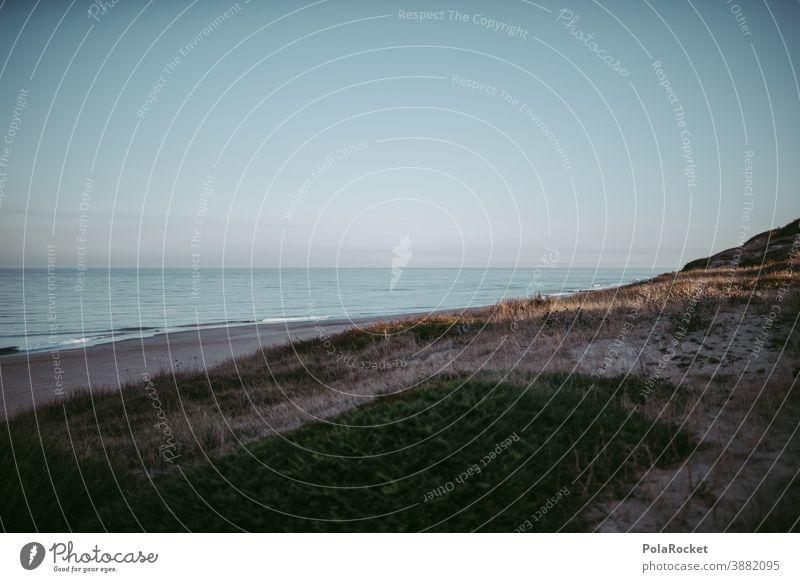#A0# Küste zum Sonnenaufgang Küstenlinie Küstenstreifen küstenschutz Küstenlandschaft Frankreich Düne Strand