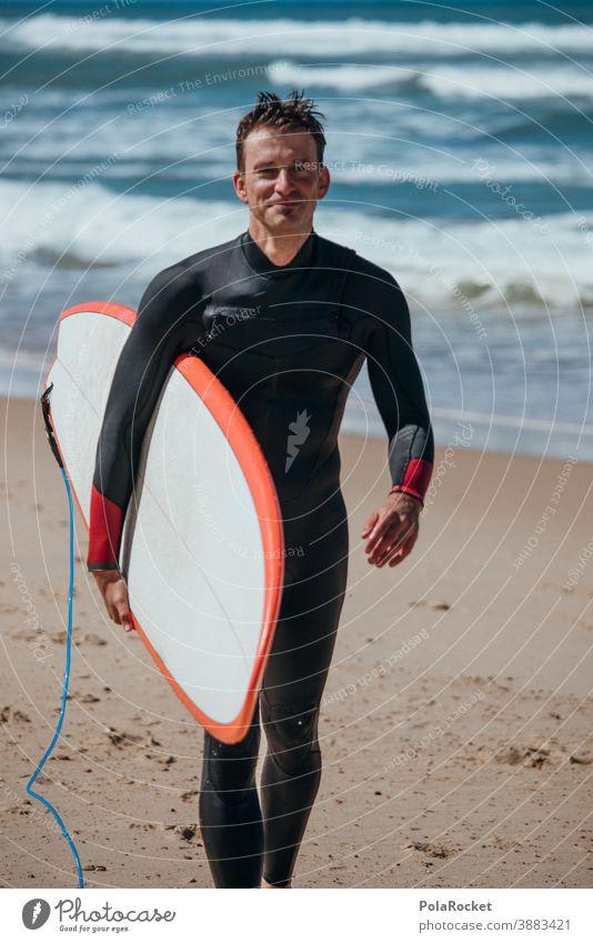 #A0# SurferParadies Küste Mann Lifestyle sportlich Wasser zeitlos Zeit genießen spirituell Spiritualität Momentaufnahme Ruhe Idylle Extremsport Wassersport