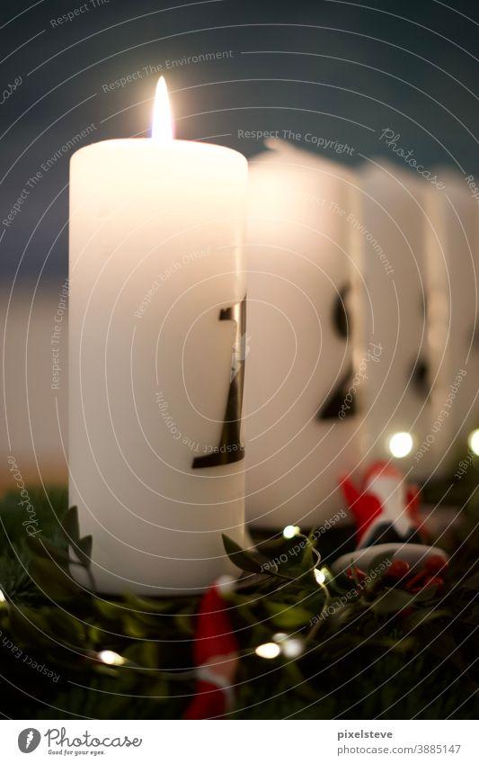 Adventskerzen Weihnachten Kerze Kerzenschein kerzenhalter Kerzenlicht Kerzenständer adventsschmuck Weihnachtsmann adventszeit adventskerze Weihnachtsdekoration