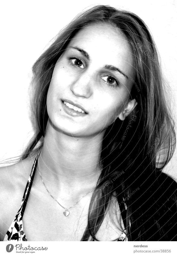 Mädchen Frau schön Haare & Frisuren Kopf offen Ehrlichkeit