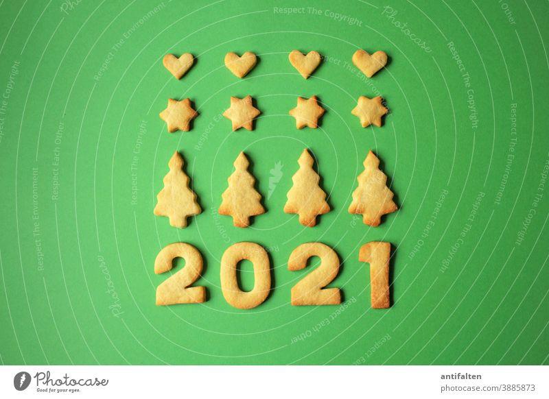Frohes Neues? Kekse kekse backen Plätzchen Plätzchen ausstechen Weihnachten & Advent Backwaren Teigwaren Farbfoto Weihnachtsgebäck lecker Ernährung süß