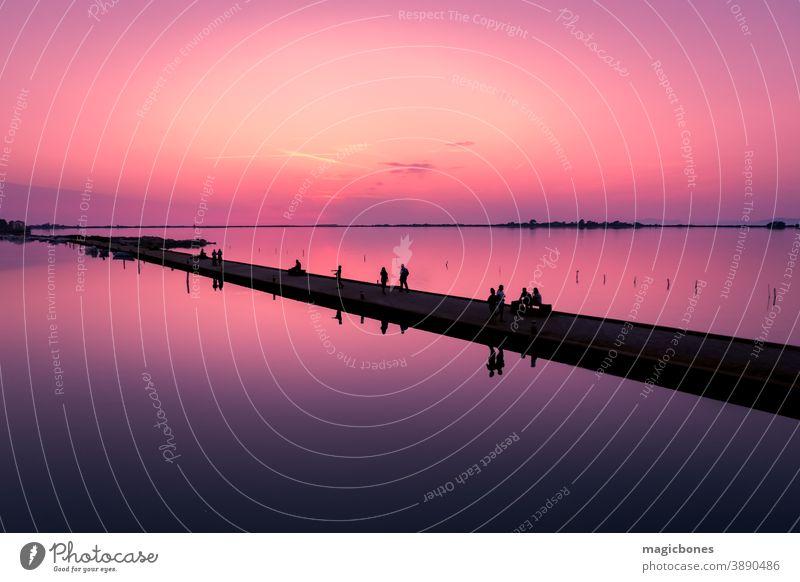 Lefkas Yachthafen bei Sonnenuntergang, Lefkada, Griechenland lefkada Silhouette farbenfroh Sommer Urlaub Natur Jachthafen Pier Wasser Tourismus Hintergrund