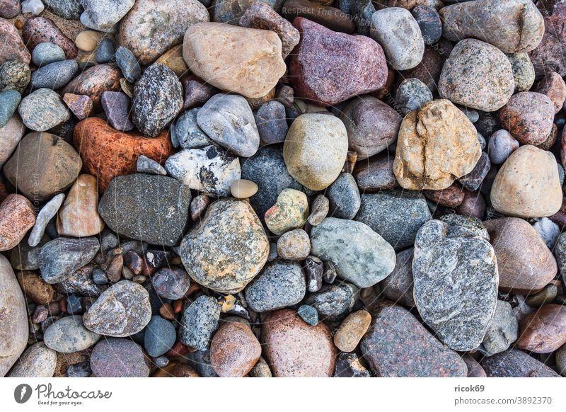 Steine an der Ostseeküste bei Meschendorf Strand Küste Mecklenburg-Vorpommern Landschaft Natur Idylle Urlaub Reise Reiseziel Umwelt Detail Stillleben Erholung