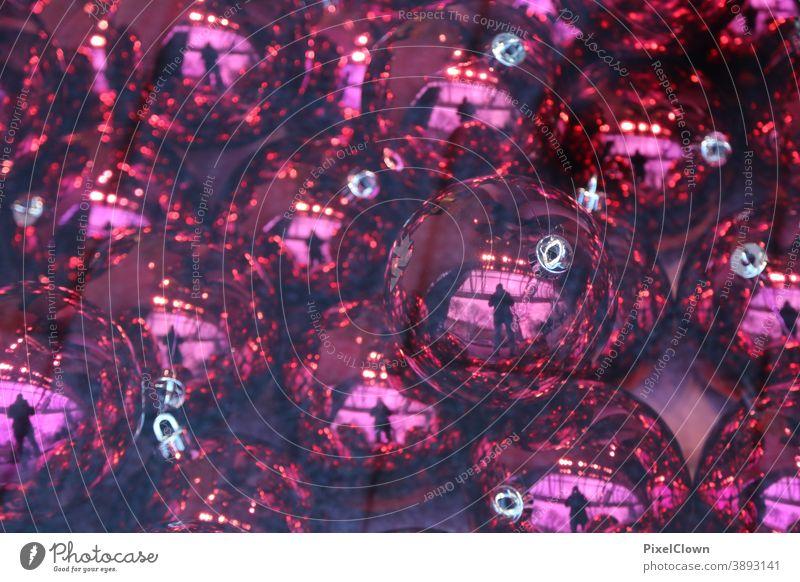 Bunte Weihnachtszeit Weihnachten & Advent Weihnachtsdekoration Dekoration Weihnachtsbaum festlich Feste & Feiern Dekoration & Verzierung Kitsch Christbaumkugel