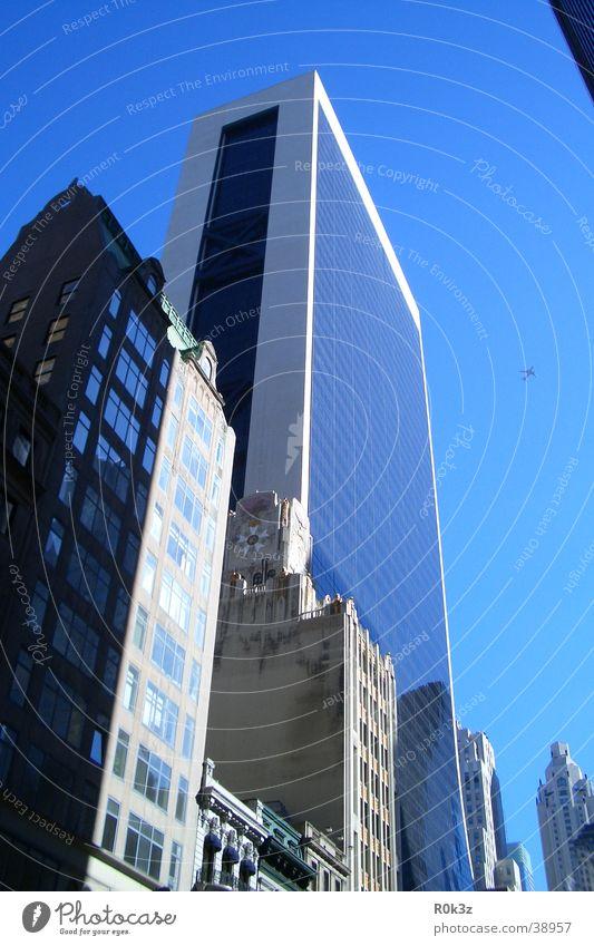 bIIIg Sonne Architektur Hochhaus New York City Blauer Himmel New York State