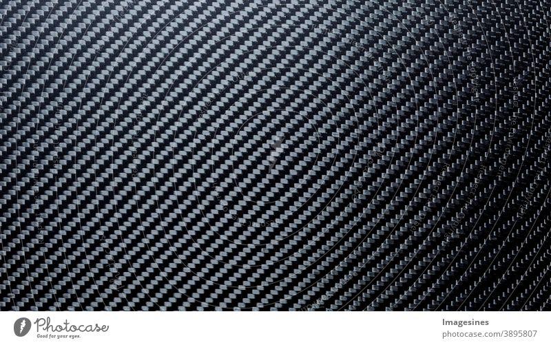 Abstrakter Verbundwerkstoff Carbon Hintergrund. Kohlefaser Textur. Visuellen Verzerrung. Geometrisches Muster Kunststoff Kohlestoffasern Material abstrakt
