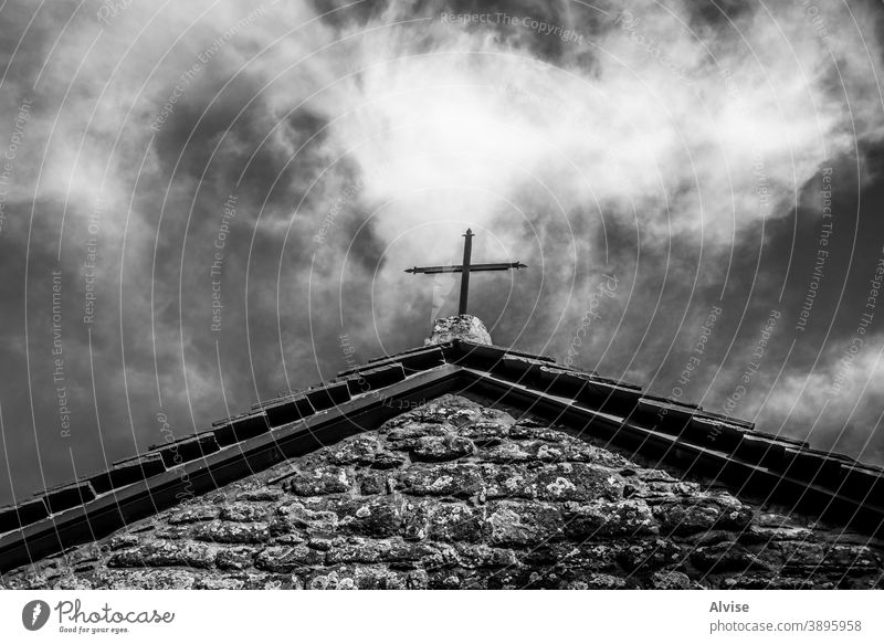 geometrische Offenbarungen Italien antik Toskana durchkreuzen Architektur Gebäude mittelalterlich historisch Kirche Haus Dach Europa Florenz Historie Turm Erbe