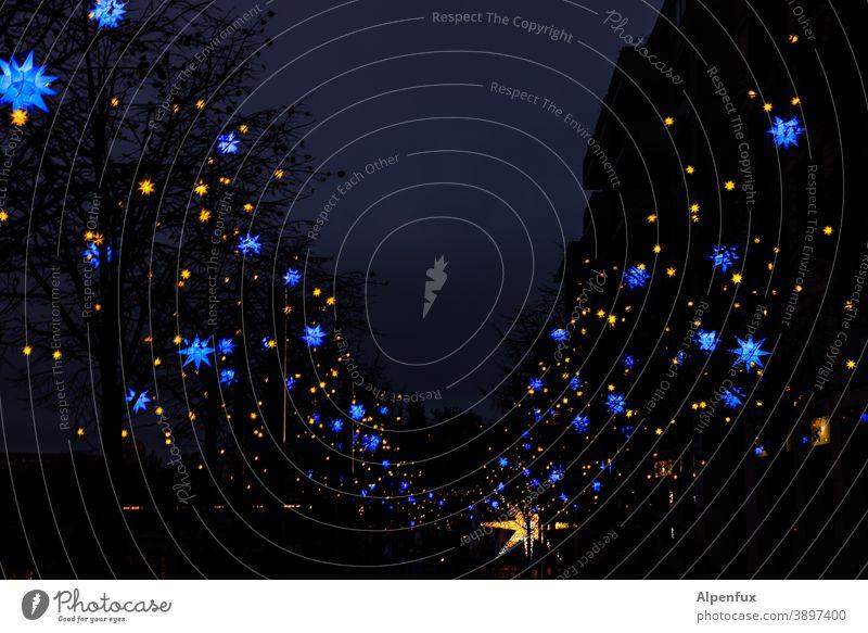 zwei Galaxien treffen sich in der Unendlichkeit Weihnachten & Advent Sterne Dekoration & Verzierung Stern (Symbol) Winter Weihnachtsstern Weihnachtsdekoration