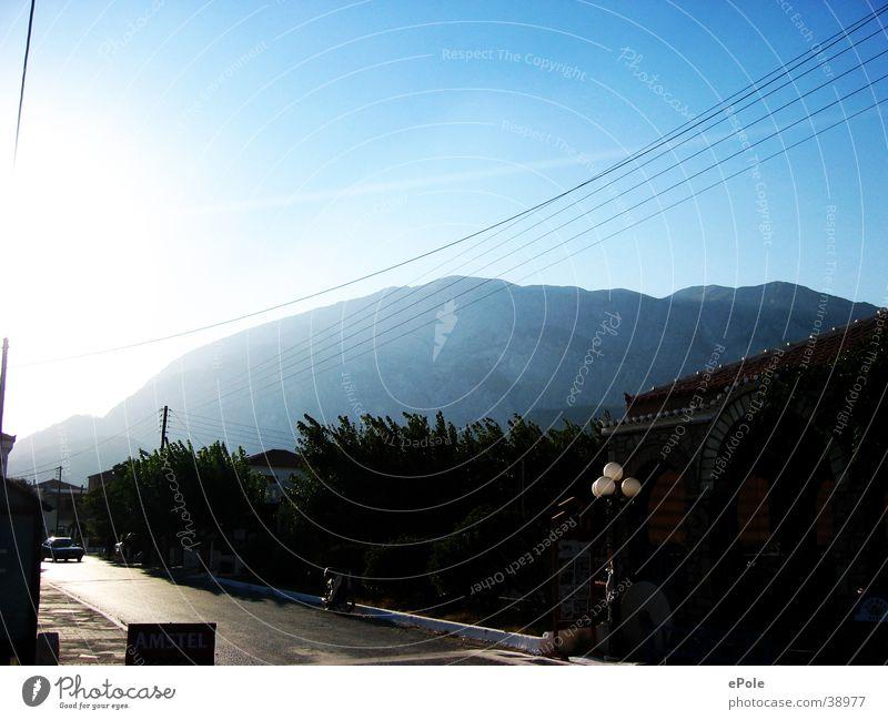 Der Berg ruft Ferien & Urlaub & Reisen Berge u. Gebirge Blauer Himmel Samos