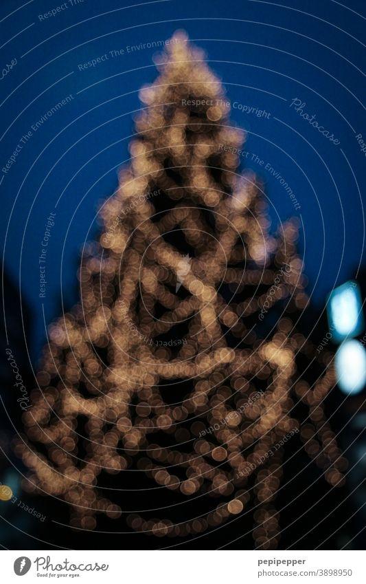Weihnachtsbaum Weihnachtsdekoration weihnachtsbaumbeleuchtung Weihnachten & Advent Dekoration & Verzierung Feste & Feiern Christbaumkugel Baumschmuck Tanne