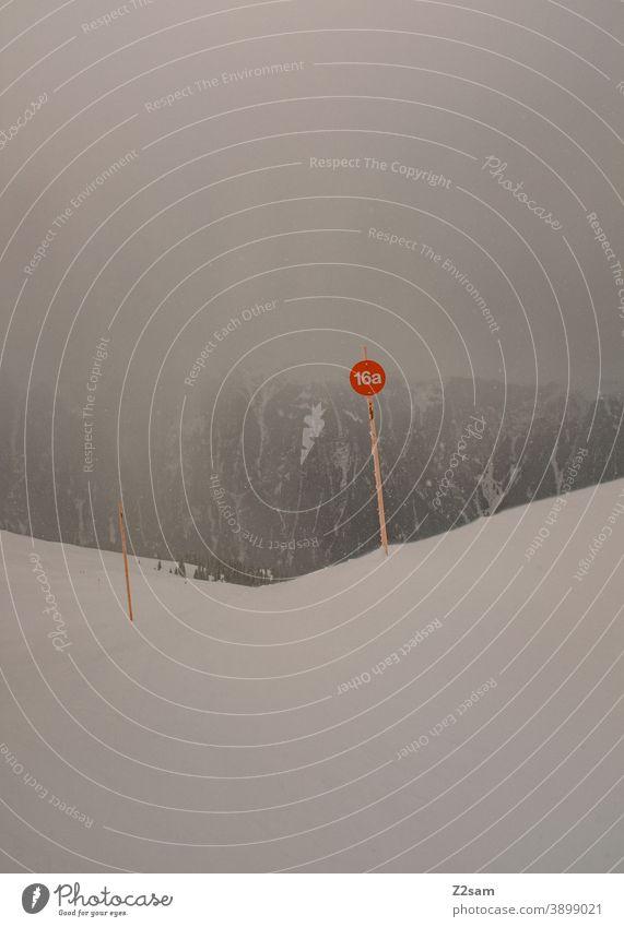 Winterlandschaft in Ratschings, Südtirol ratschings Skipiste Berge alpin Wintersport Urlaub Landschaft Feiertage Kälte Ruhe Himmel Spuren Skifahren Snowboard