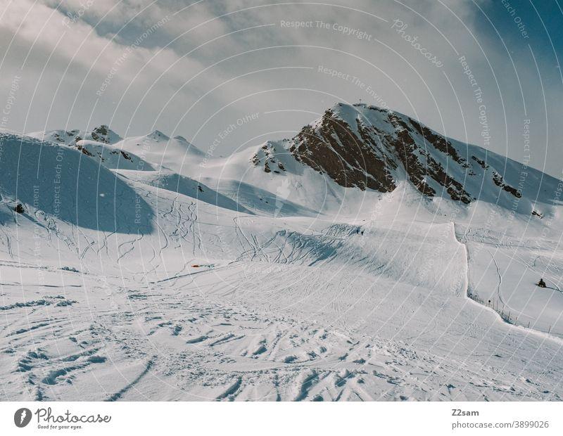 Südtiroler Skigebiet | Ratschings Erholung südtirol italienisch Natur Skifahren snowboarden Wintersport Landschaft Winterlandschaft Kälte Schafe Sport Tourismus