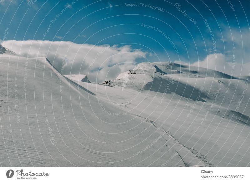 Südtiroler Skigebiet   Ratschings Erholung südtirol italienisch Natur Skifahren snowboarden Wintersport Landschaft Winterlandschaft Kälte Schafe Sport Tourismus