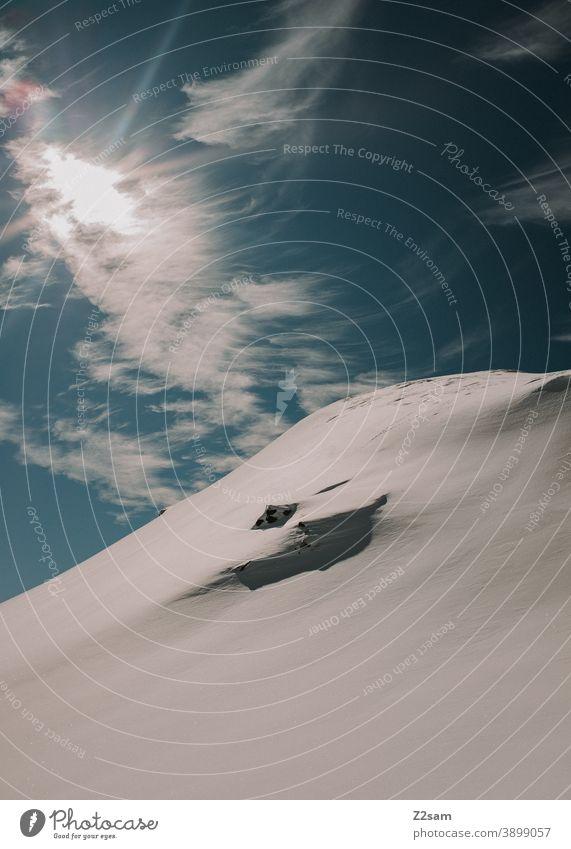 Südtiroler Skigebiet   Ratschings Erholung Italienisch Natur Skifahren Snowboarding Wintersport Landschaft Winterlandschaft Kälte Schaf Sport Tourismus Ausflug