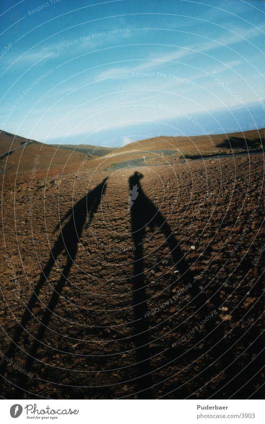 2 Schatten Mensch